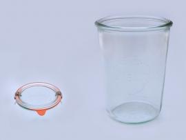 3/4l Weckglas sturzförmig