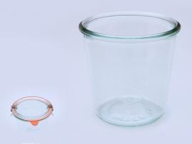 1/2l Weckglas sturzförmig